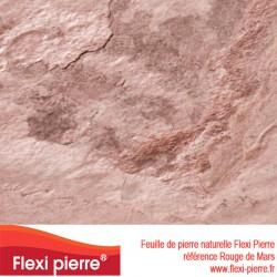 Feuille de pierre Flexi Pierre® référence Rouge de Mars