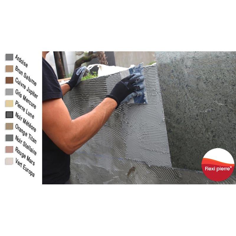 Colles époxy avec les nuances de couleur correspondantes au nuances de feuilles de pierre. Exclusivité Flexi Pierre