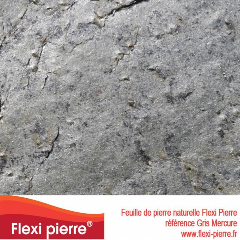 Feuille de pierre Flexi Pierre® Gris Mercure