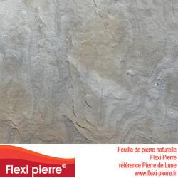 Feuille de pierre Flexi Pierre® référence Pierre de Lune